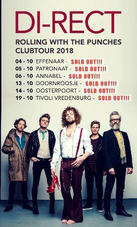 Di-rect geeft gratis concert in Den Haag 18 augustus @ Bijenkorf
