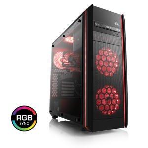 PC met AMD Ryzen 2700X, Asus X470 MB, Nvidia GeForce GTX 1080TI, 240 GB SSD, 2TB HDD @ csl-computer.com
