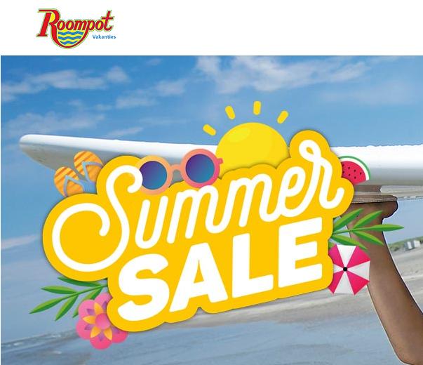 Roompot vakanties Summer Sale