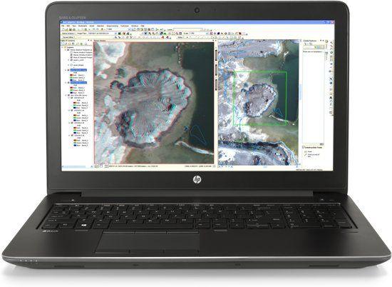 """HP Zbook 15"""" G3 Work station  + gratis Thunderbolt dock twv €272,25"""