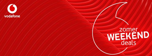 Vodafone Weekend Deals bij Mobiel.nl