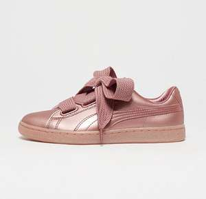 Puma Court Basket Heart copper dames sneakers -75% @ Snipes
