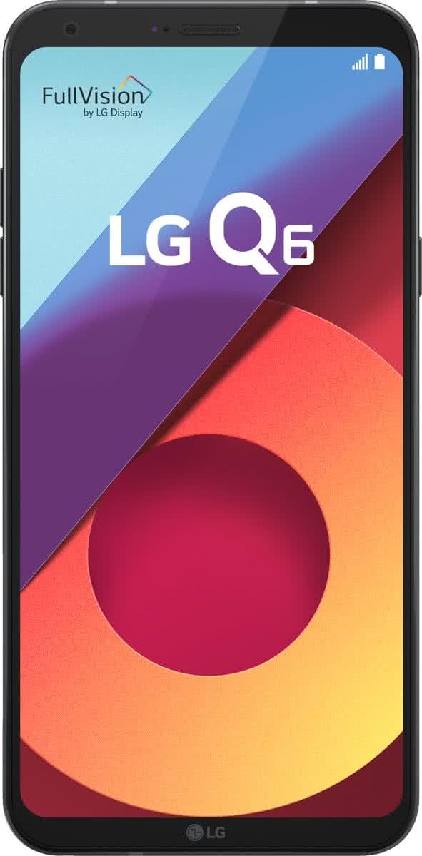 LG Q6 32GB Smartphone Astro Black voor €149 @ Bol.com