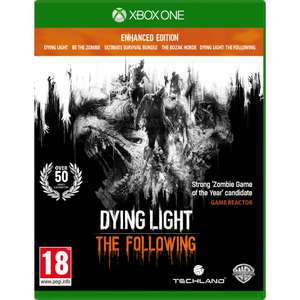 Dying light plus dlc / dishonerd 2 / diablo 3 reapers of souls/ doom uac edition lokaal/xbox only