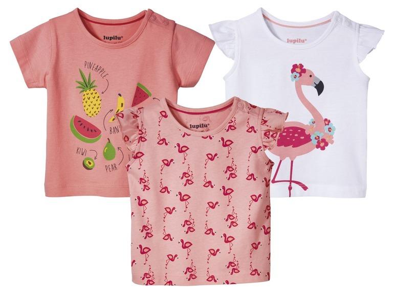 Lupilu baby meisjes t-shirt voor €0,99 @ LIDL