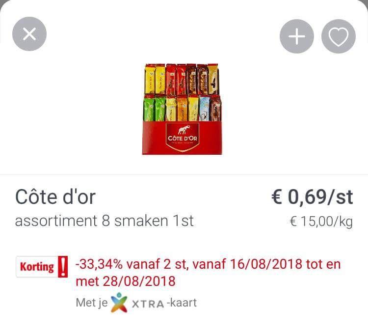 [Grensdeal] Gratis Cote d'or in België