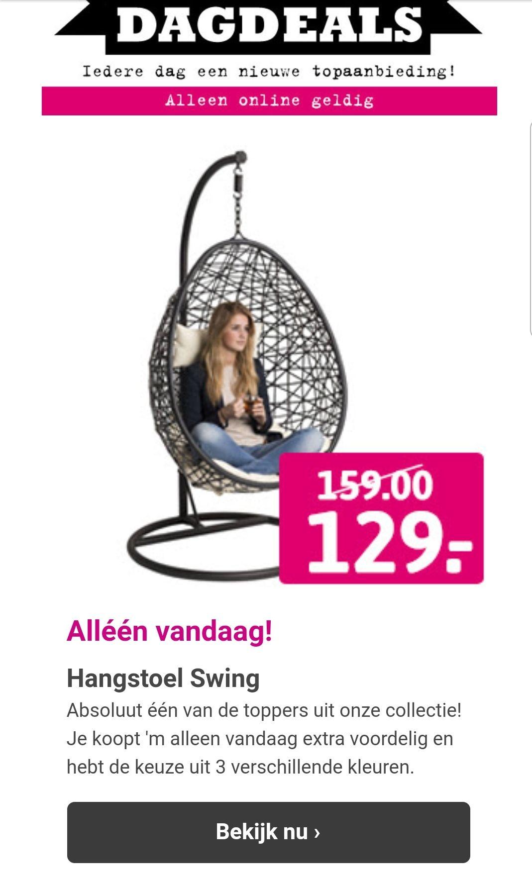 Hangstoel Swing - Dagdeal @ Xenos Online