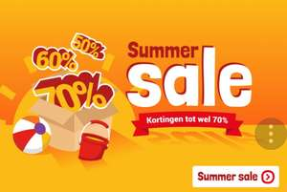 Summersale bij Lobbes tot 80%