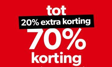 Dit weekend heel veel sale 20% EXTRA korting @ Wehkamp
