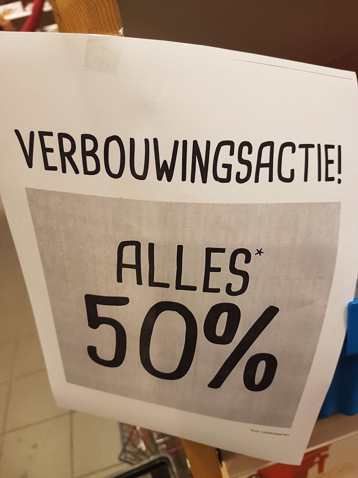 [Lokaal Assen] 50% op de gehele collectie @ Xenos Assen