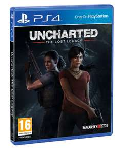 Uncharted: Lost Legacy @Amerikaanse Playstation Store