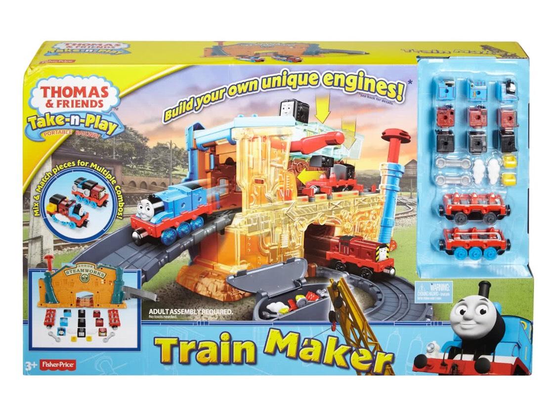 Fisher-Price - Thomas de Trein Take-N-Play Treinmaker @Bol.com