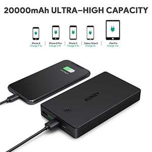 Aukey 20000 mAh Quick Charge 3.0 Powerbank @Amazon.de