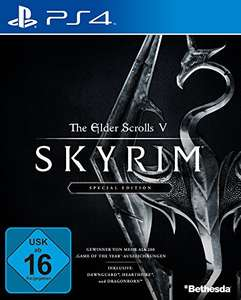 The Elder Scrolls V: Skyrim Special Edition PS4 & XBox One @Amazon.de