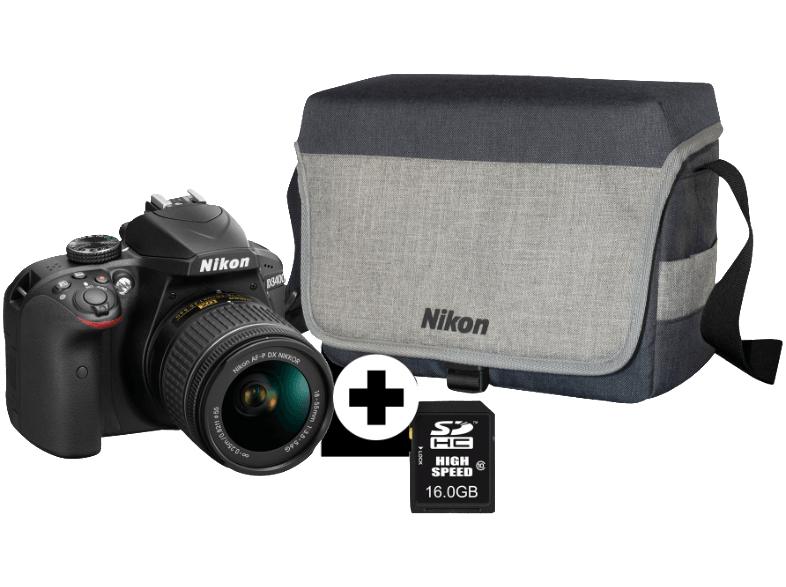 Grensdeal - Nikon D3400 en accessoires + €50 cadeaukaart @mediamarkt