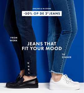 2e dames jeans 50% korting @ WEfashion