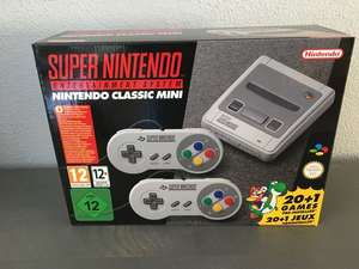 Mini super Nintendo (SNES) @kruidvat