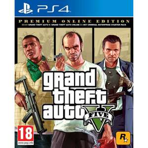 Gta5 online premium edition bij Intertoys en psn