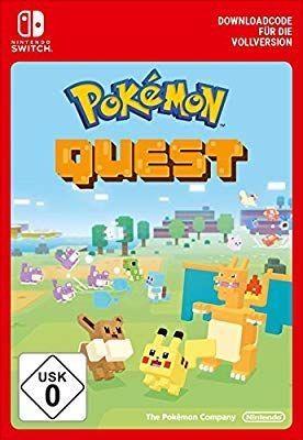 Gratis download code Pokémon Quest Nintendo switch @amazon.de