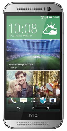 PRIJSFOUT:? HTC One M8 zilver met 1 of 2 jaar Telfort 300 min + 1000 mb voor €407,23 @ Mobiel.nl