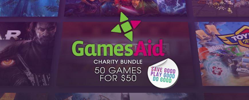 GamesAid 50 Game Charity Bundle 2018 @ Green Man Gaming