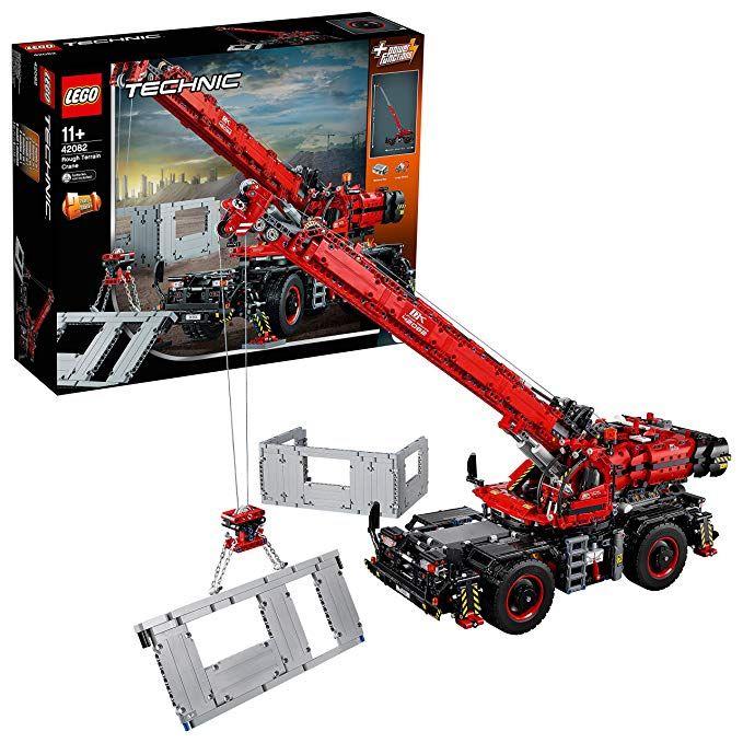 Lego Technic 42082 Rough Terrain Crane @ Amazon.de