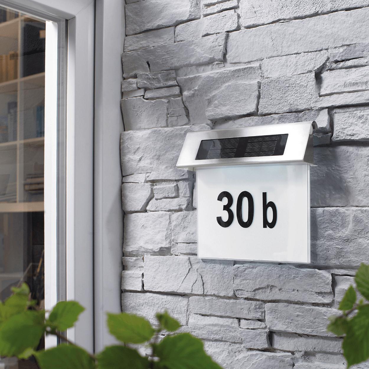 Solar huisnummers voor €19,99 @Aldi