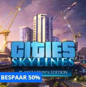 Cities Skylines PS4 19,99