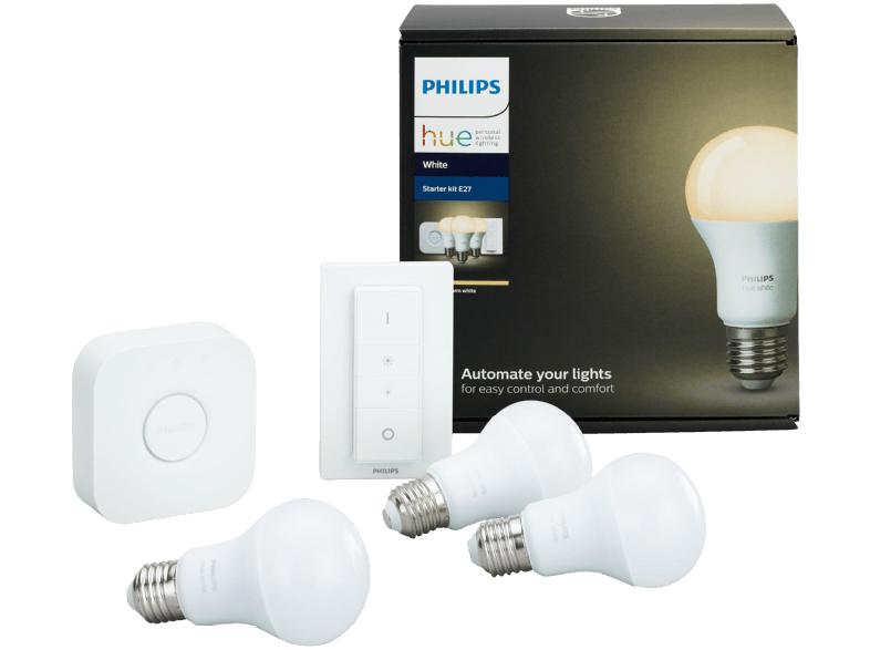 [GRENSDEAL] Philips Hue witte starterset + Google Home Mini €99 @ Saturn Duitsland