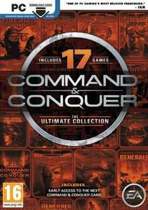 Command and Conquer: The Ultimate Edition PC van € 11.39 nu voor € 4.29 (17 games)