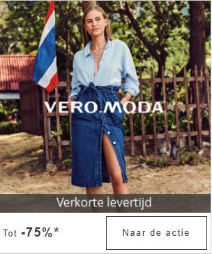 T/m zondag tot 75% korting op Vero Moda bij Zalando Lounge