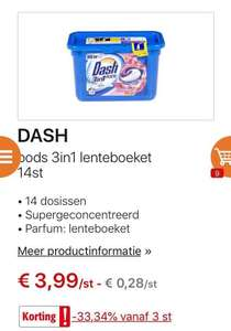 [GRENSDEAL] BE Dash pods €1,66