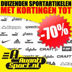 Tot 70% korting op veel sportartikelen @ Avantisport