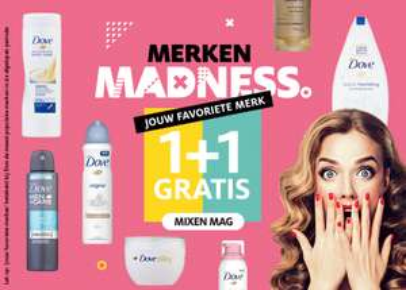 Etos | Merken madness 1+1 gratis week 35 en 36