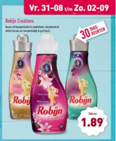 Aldi | Weekendactie Robijn voor slechts €1,89
