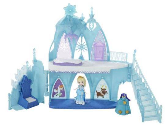 Disney Frozen Mini Prinses Elsa's IJskasteel Little Kingdom met allerlei leuke accessoires