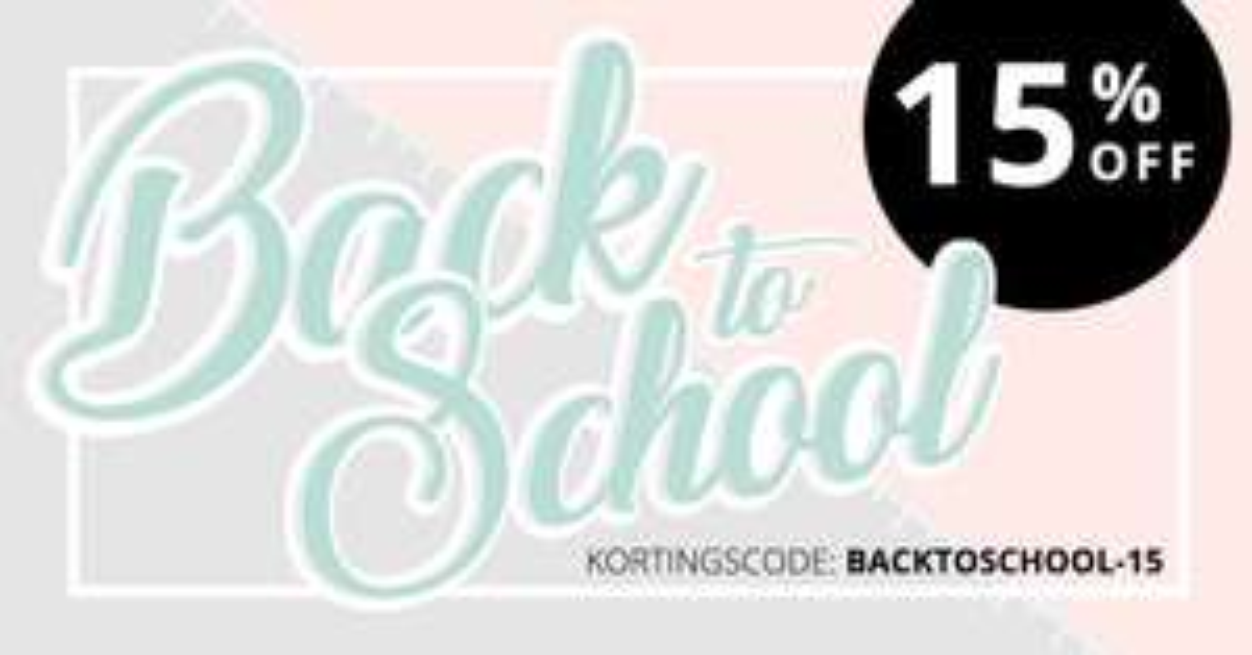 Back to school (& work): 15% korting @ Smartphonehoesjes.nl