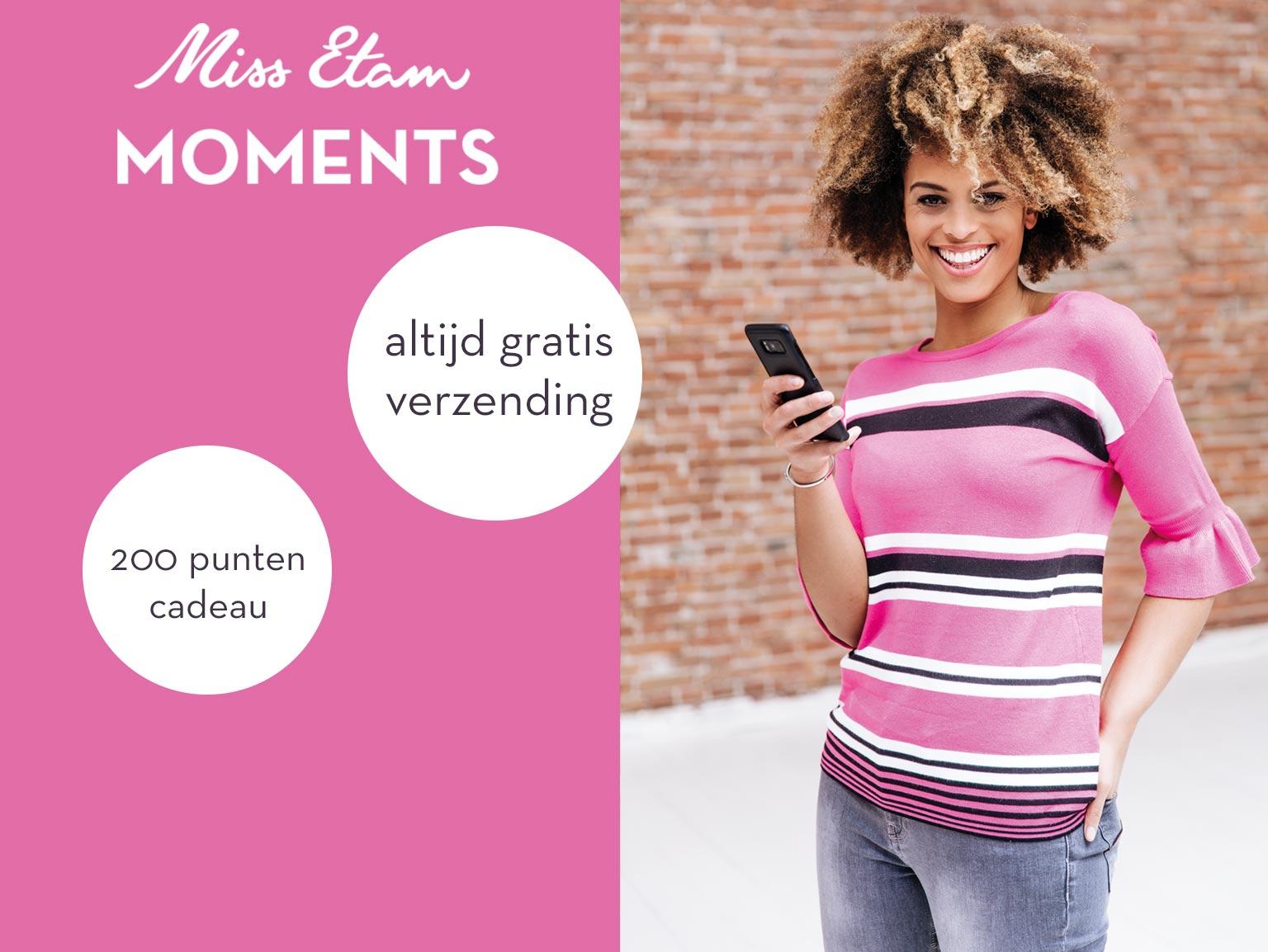 Gratis verzending met miss etam moments (lees beschrijving)