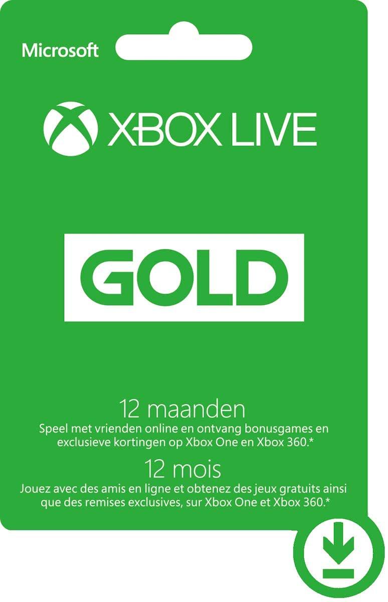 Xbox Live Gold - 12 maanden (geen VPN nodig) @ iGiftcards