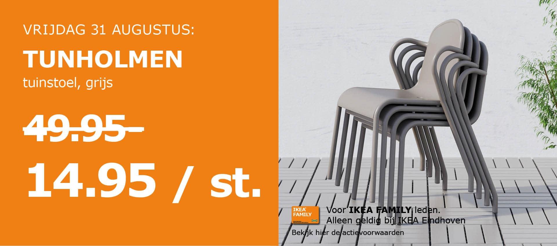 VoordeelVrijdag @ IKEA Eindhoven - o.a. tuinstoel voor €14,94 i.p.v. €49,95