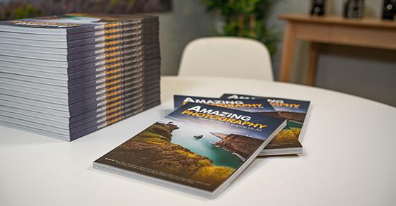 Boek Amazing Photography. Alleen verzendkosten 4,99