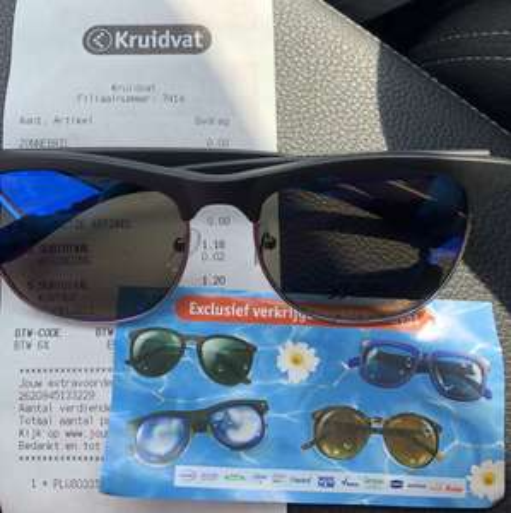 Gratis zonnebril t.w.v. €9,99 voor alle betalende klanten @Kruidvat