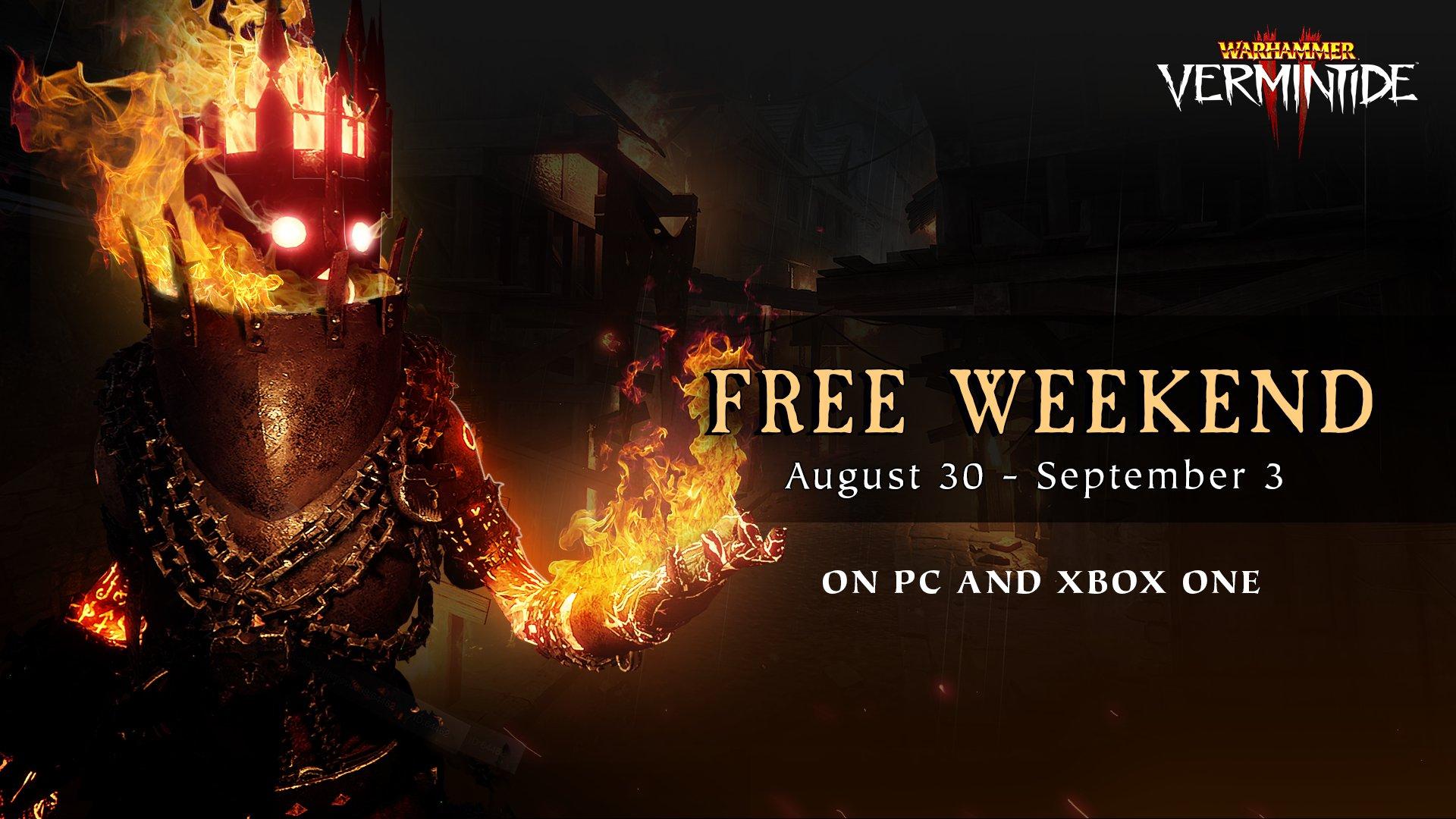 Warhammer: Vermintide 2 dit weekend gratis speelbaar op Steam en Xbox One