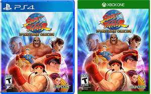 Street Fighter 30th Anniversary Collection + Ultra Street Fighter IV (Full Game) (PS4&XB1) @ base.com