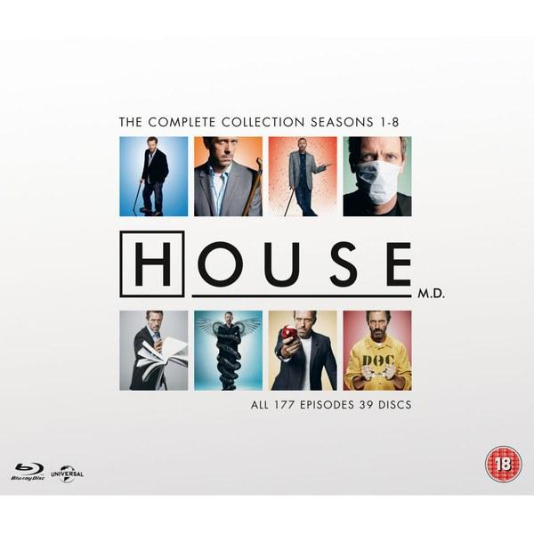 House M.D. - Complete serie op Bluray @ Zavvi
