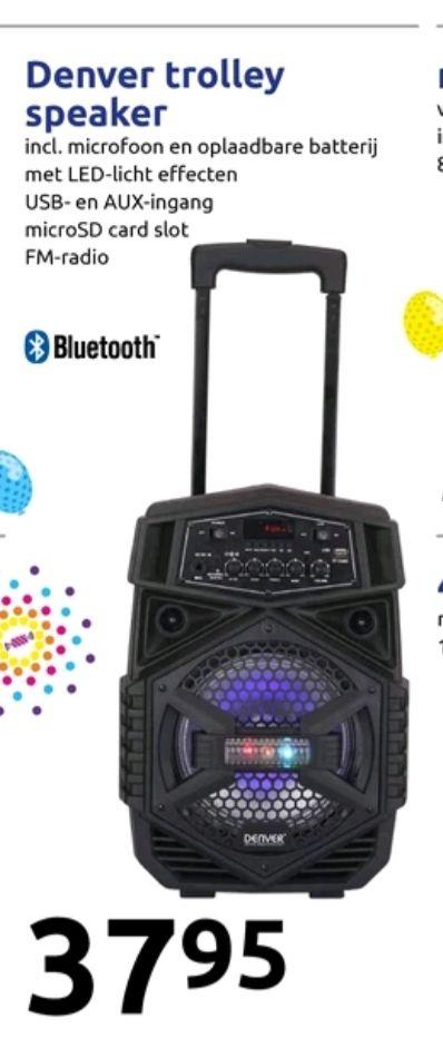 @Action, Denver trolley speaker €37.95