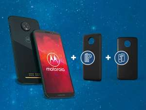Motorola Moto z3 Play Bundel (gratis Moto Power Pack en Moto Style Shell) - €399 @ Amazon DE