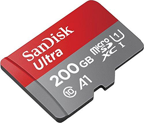 SanDisk Ultra 200GB microSDXC geheugenkaart + adapter Klasse 10, U1, A1