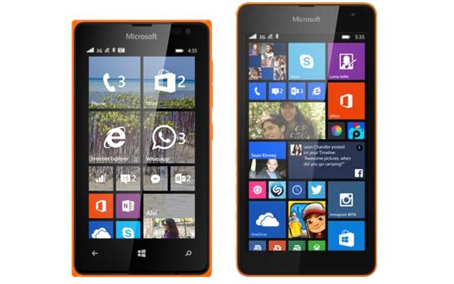 €5 korting + €10 cashback op Microsoft Lumia 435 of 535 met T-Mobile Prepaid @ Kijkshop