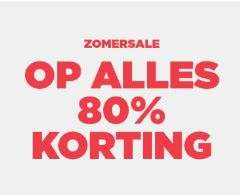 Zomersale: alles -80% (dames / heren / kids) @ Mango Outlet
